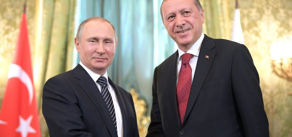 Erdogan in Russia Thursday to discuss with Putin from Syria